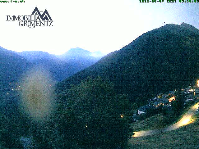 Webcam Val d'Anniviers