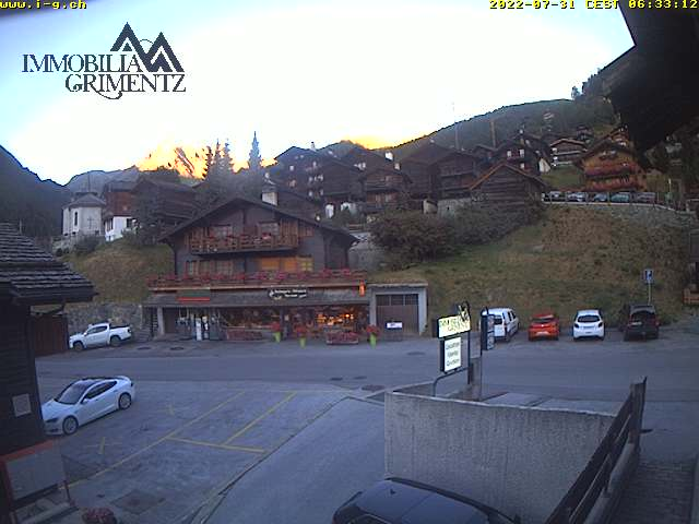 webcam Grimentz
