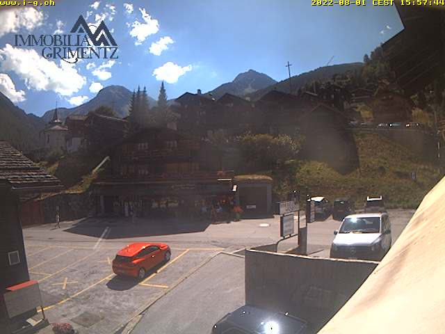 Webcam Grimentz, village
